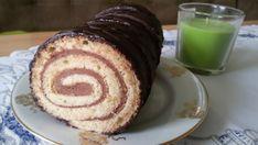 Nejjednodušší čokoládová roláda   NejRecept.cz Strudel, Deserts, Vaj, Cukor, Food, Desserts, Eten, Postres, Dessert