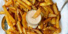 Recette facile de frites de navet et leur mayonnaise à l'érable - Recettes - Ma Fourchette Main Dishes, Side Dishes, Good Food, Yummy Food, Mayonnaise, French Fries, Entrees, Hamburgers, Mashed Potatoes