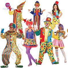 Disfraces grupos Payasos En mercadisfraces tu tienda de disfraces online, aquí podrás comprar tus disfraces para Carnaval o cualquier fiesta temática. Para mas info contacta con nosotros http://mercadisfraces.es/disfraces-para-grupos/?p=7
