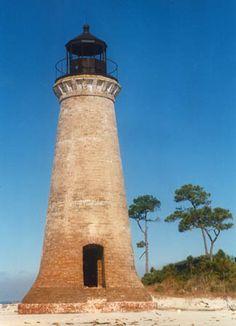 Round Island Lighthouse, Mississippi