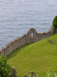 ~Old sea wall, Ireland~