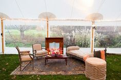 living room set up   Tent lounge (living room) set-up   ∇ P A R T Y Y Y