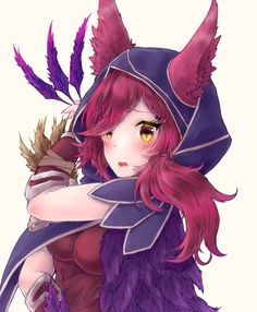 Kawaii xayah - League of legends