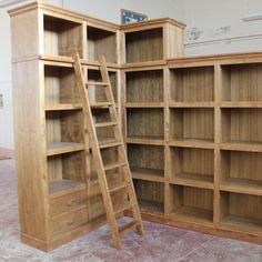 Estanteria para almacenar libros . Bookcase, Shelves, Home Decor, Solid Wood, Books, Shelving, Homemade Home Decor, Book Shelves, Shelf