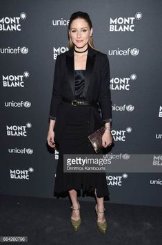 Olivia Palermo attends the Montblanc UNICEF Gala Dinner at the New York Public Library on April 3 2017 in New York City