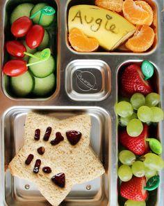 Sternchen-Sandwich mit ganz viel frischem Obst - lecker!