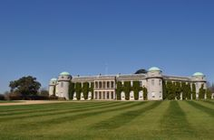 Goodwood House, West Sussex. Home to the Dukes of Richmond for over 300 years.