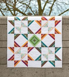 Stars and Stripes quilt from Skip the Borders