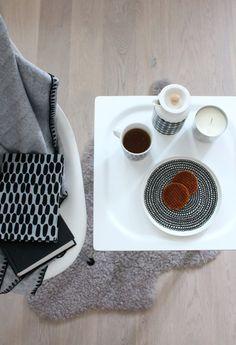 Marimekko from John Lewis Marimekko, Nespresso, Flooring, Interior, Room, John Lewis, Sunday, Tea, Design