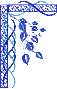 Flower decoration free embroidery 54 - Flowers free machine embroidery designs - Machine embroidery community