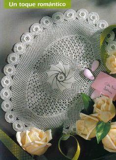 FREE DIAGRAM ~ C ~ 274 ~ Tablecloths - Crochet Knitting Handicraft