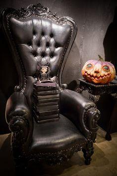 goth armchair