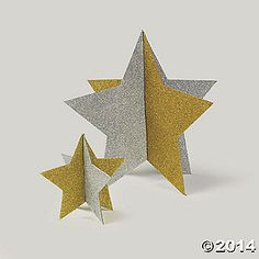 Gold and Silver Star Centerpieces Party Supplies Canada - Open A Party Star Centerpieces, Star Decorations, Centerpiece Decorations, Glitter Decorations, Glitter Stars, Silver Stars, Glitter Gif, Glitter Wallpaper, Night To Shine