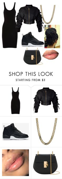 """Birthday outfit"" by big-brown-eyes04 on Polyvore featuring T By Alexander Wang, storets, NIKE and Chloé"