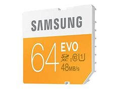 Samsung 64GB EVO Class 10 SDXC Card up to 48MBs MBSP64DAM *** Read more reviews of the product by visiting the link on the image.