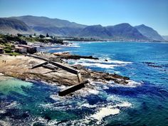 The old harbour in Hermanus. Photo by Mariette du Toit-Hembold Seaside Village, Beaches In The World, Most Beautiful Beaches, Heaven On Earth, The Great Outdoors, South Africa, Places To Go, Tourism, Scenery