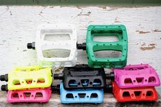 Odyssey Twisted PC Pedals In all the rad colours - Check Out The Odyssey Twisted PC Pedals here at Anchor Bmx located in Melbourne with orders shipping Australia wide. Bmx Pedals, Specs, Old School, Strength, Plastic, Colours, Popular, Simple, Design