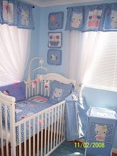 Hello Kitty Nursery--see, boys can have it too :)