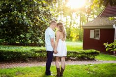 Seven Springs Engagement Session | Richmond, Virginia Wedding Photographer