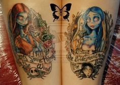 jack sally tattoo - Google Search