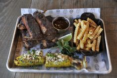Tequila baby back ribs at Saint Anejo, Nashville, TN