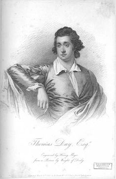 Thomas Day was the first Lunar Society figure publicly to attack slavery. In 1773 he read a newspaper report about a slave working for a ship's captain who fell in love with a white female servant. The slave ran away to be christened, so that he could marry her. Recaptured, he was locked up in a boat on the Thames and shot himself in the head. Day was moved by the experience to compose a lengthy poem, The Dying Negro, one of the first works of propaganda against slavery.