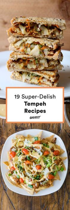 19 Tempeh Recipes So You Finally Know What the Heck to Do With It is part of Tempeh Recipes That Make Delicious Plant Based Meals Greatist - Meet tofu's other (better ) half Vegan Foods, Vegan Dishes, Vegan Vegetarian, Vegetarian Recipes, Vegan Raw, Vegan Life, Tofu Recipes, Whole Food Recipes, Cooking Recipes