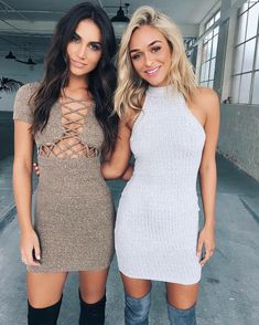 """""""The 'Jacinta' dress is now available in Marle (left) $69.95 and our best selling dress every year - the 'Mood Booster' (right) is now online $54.95 """""""