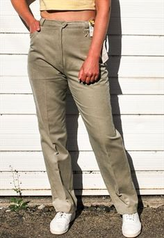0c0e60c7fc2 Vintage Green Cord Trousers