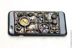 Декорируем панель для мобильного телефона в стиле стимпанк - Ярмарка Мастеров - ручная работа, handmade