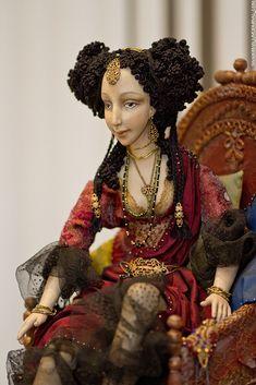 Black Noize Cathedral - Фотоотчет: Юбилейная X-я профессиональная ежегодная выставка художественных кукол DOLLART.RU