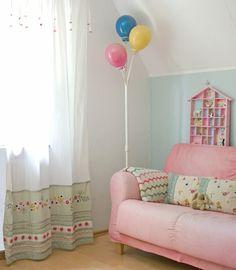 wunderschön-gemacht: neues aus dem kinderzimmer.ich mag die ballon-lampe.