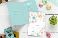 menu de mariage champêtre par Mr & Mrs Clynk pour www.rosemood.fr #mariage #menu #wedding