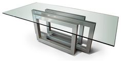 REBECCA dining Table - dining tables - other metro - by GONZALO DE SALAS