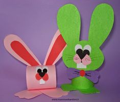 simple and accessible crafts for kids and to have fun exploring at home and at school Easter Arts And Crafts, Craft Kits For Kids, Art Activities For Kids, Easter Activities, Easter Crafts For Kids, Spring Crafts, Preschool Crafts, Craft Ideas, Rabbit Crafts