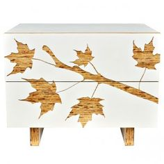 Graphic Nightstand, Trees