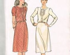 Image result for 1980s shirt dresses patterns for women