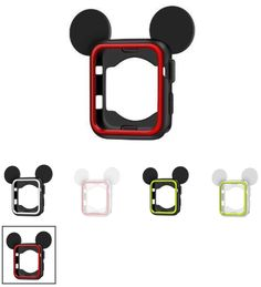 Silicone Mickey Case for Apple watch