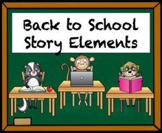 Boom Learning- Back to School Reading Comprehension using Story Elements Reading Comprehension Activities, Easel Activities, Student Data, Story Elements, Back To School Activities, Task Cards, Classroom, Learning, Class Room