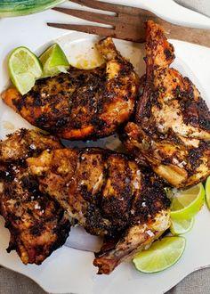 Scrumpdillyicious: Grilled Jamaican 'Jump-Up' Jerk Chicken