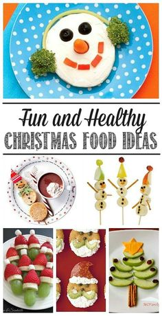 I love all of these fun and healthy Christmas food ideas!  Great for Christmas parties, class treats, or just a fun snack idea!