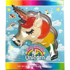 Make your little unicorn lover's birthday extra magical by gifting them this Giant Gummy Unicorn! The gummy unicorn features a rainbow-colored mane and a matching rainbow hard candy horn. Graduation Party Supplies, Unicorn Party Supplies, Birthday Supplies, Kids Party Supplies, Little Girl Toys, Toys For Girls, Minnie Mouse Toys, Candy Party, Party Stores