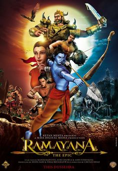 Ramayana the epic; He gets busy with a bow and arrow!