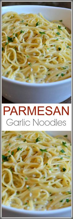 These Parmesan Garlic Noodles are the easiest side dish to make. The boxed…