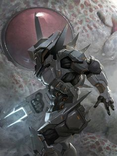 Galaxy Saga (applibot) The demon killer advanced by djahal.deviantart.com on @deviantART