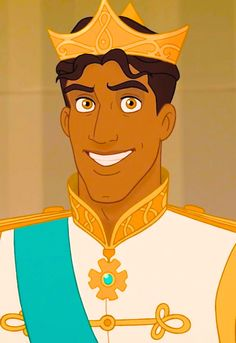 Prince Naveen in his royal wedding attire - The Princess and the Frog