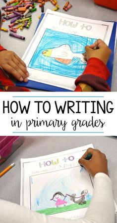 Lessons and ideas for first and second grade students to share their own how to writing books!