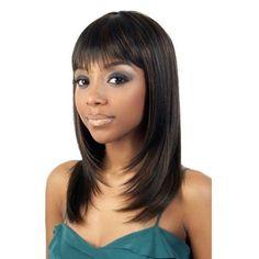 "Motown Tress Simple Cap Full WIG SK-SPORTY Color F4/27/30 by Motown Tress. $18.99. SIMPLE CAP STRAIGHT W/BANG OL18"""