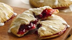 Pillsbury® Gluten Free refrigerated pie and pastry dough makes it easy to make these sweet pies for an after-school snack!