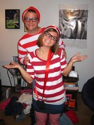 Couples Costumes - Waldo & Wenda
